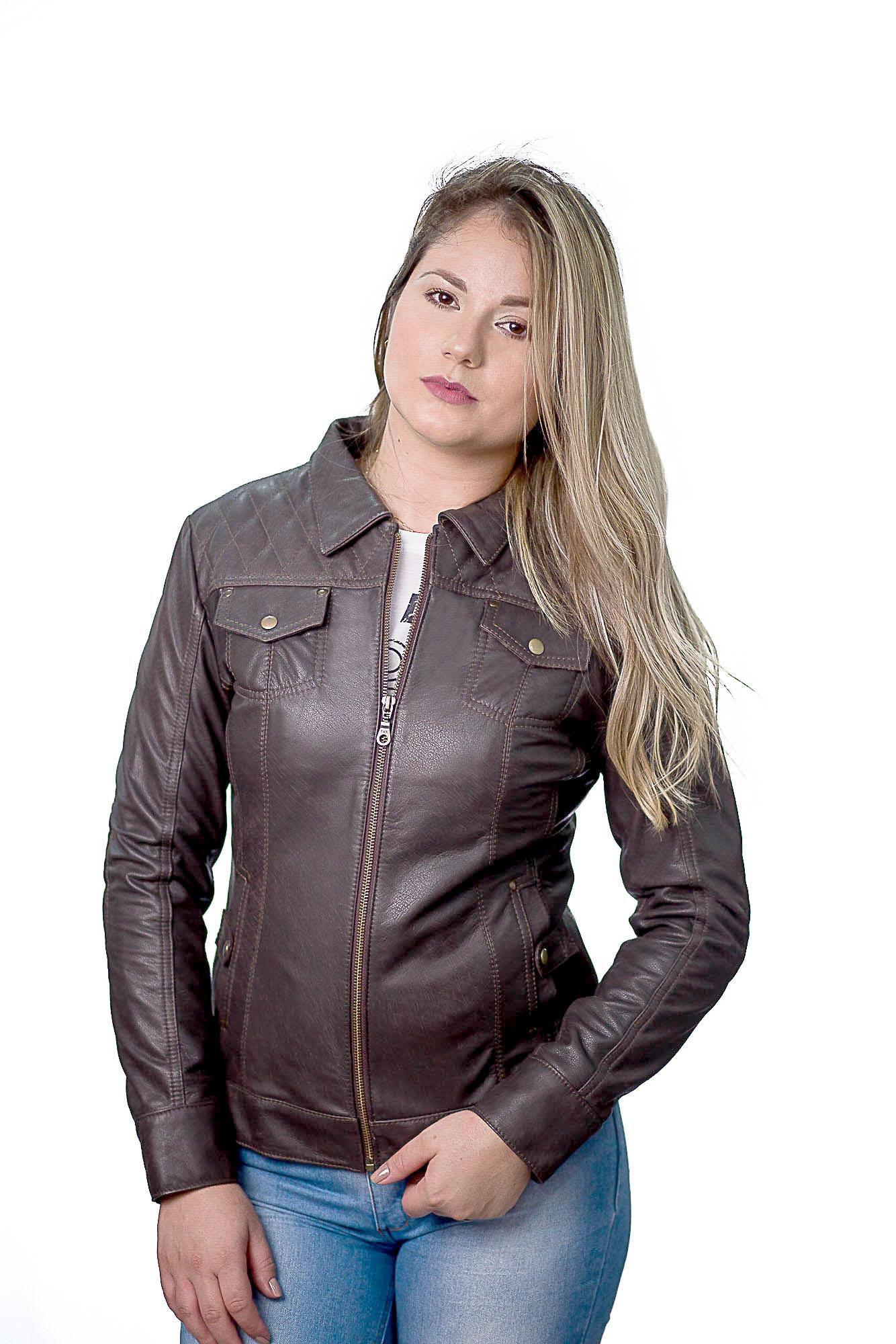 Jaqueta Feminina 187 Ranger Brown