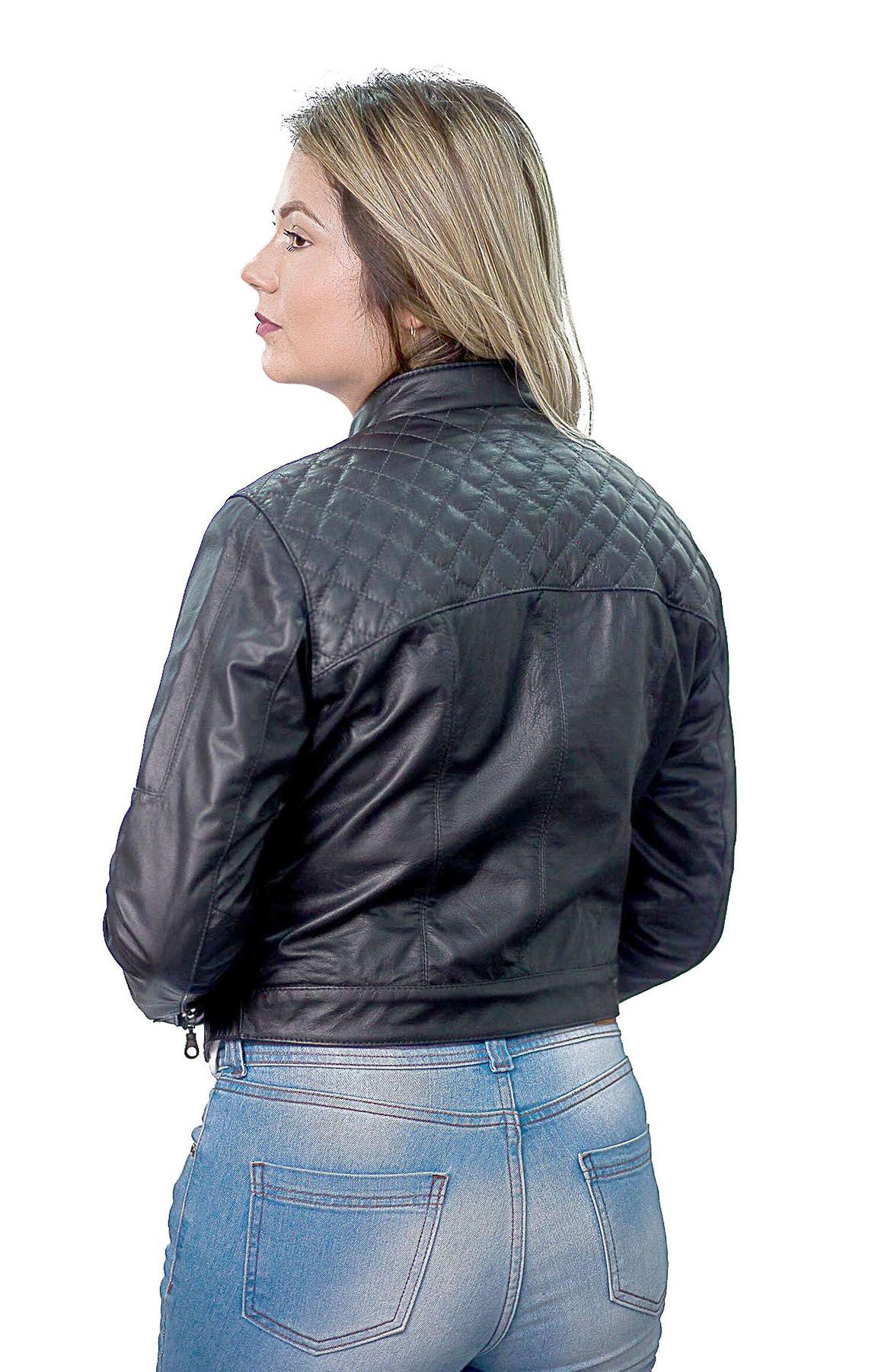 Jaqueta Feminina 188 Vest Preto