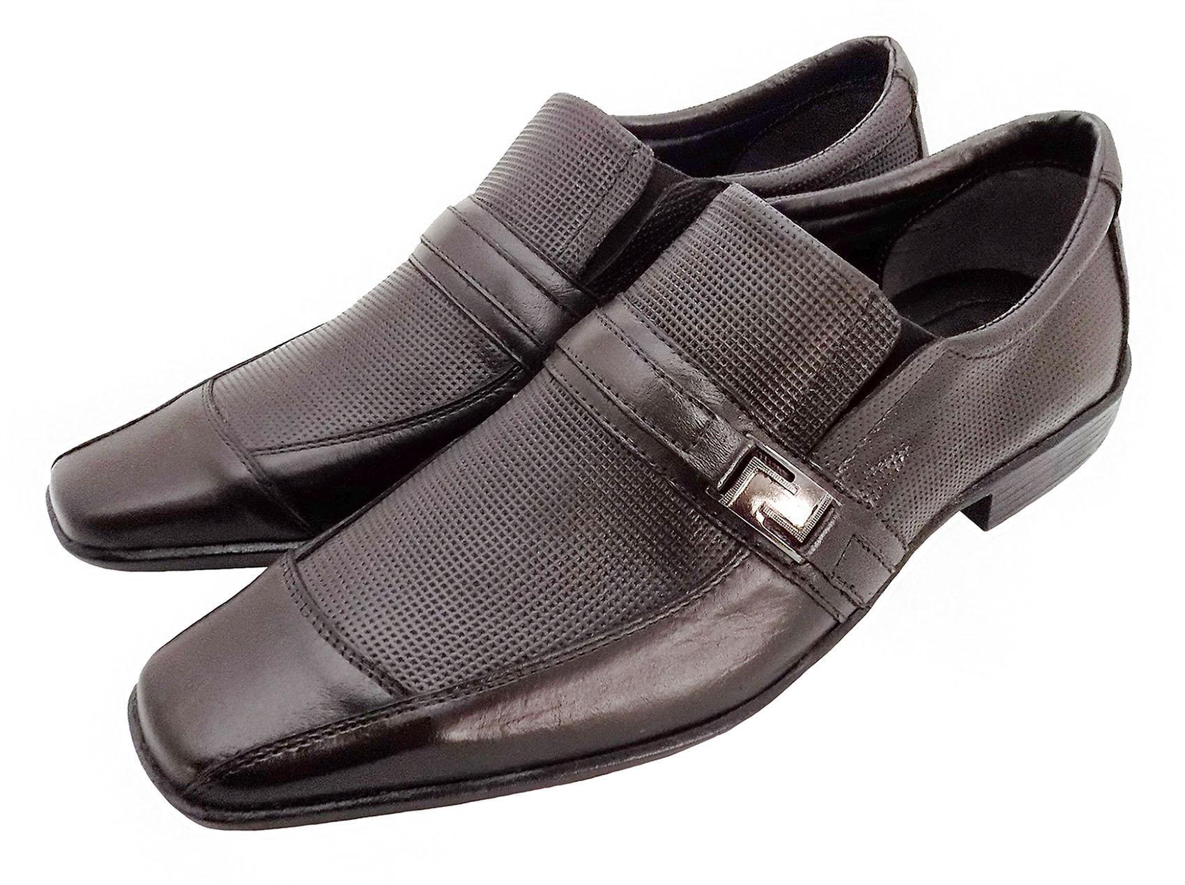 Sapato Prata Couro Roma 3028
