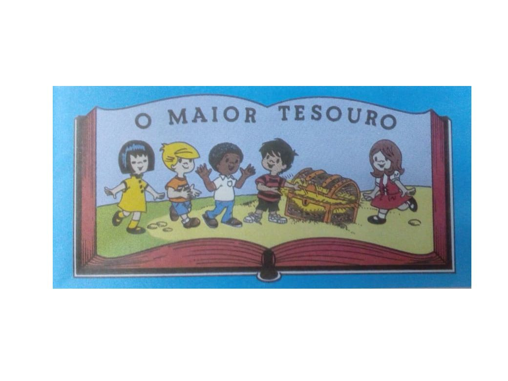 Folheto Maior Tesouro  ( pacote com 50 unidades )