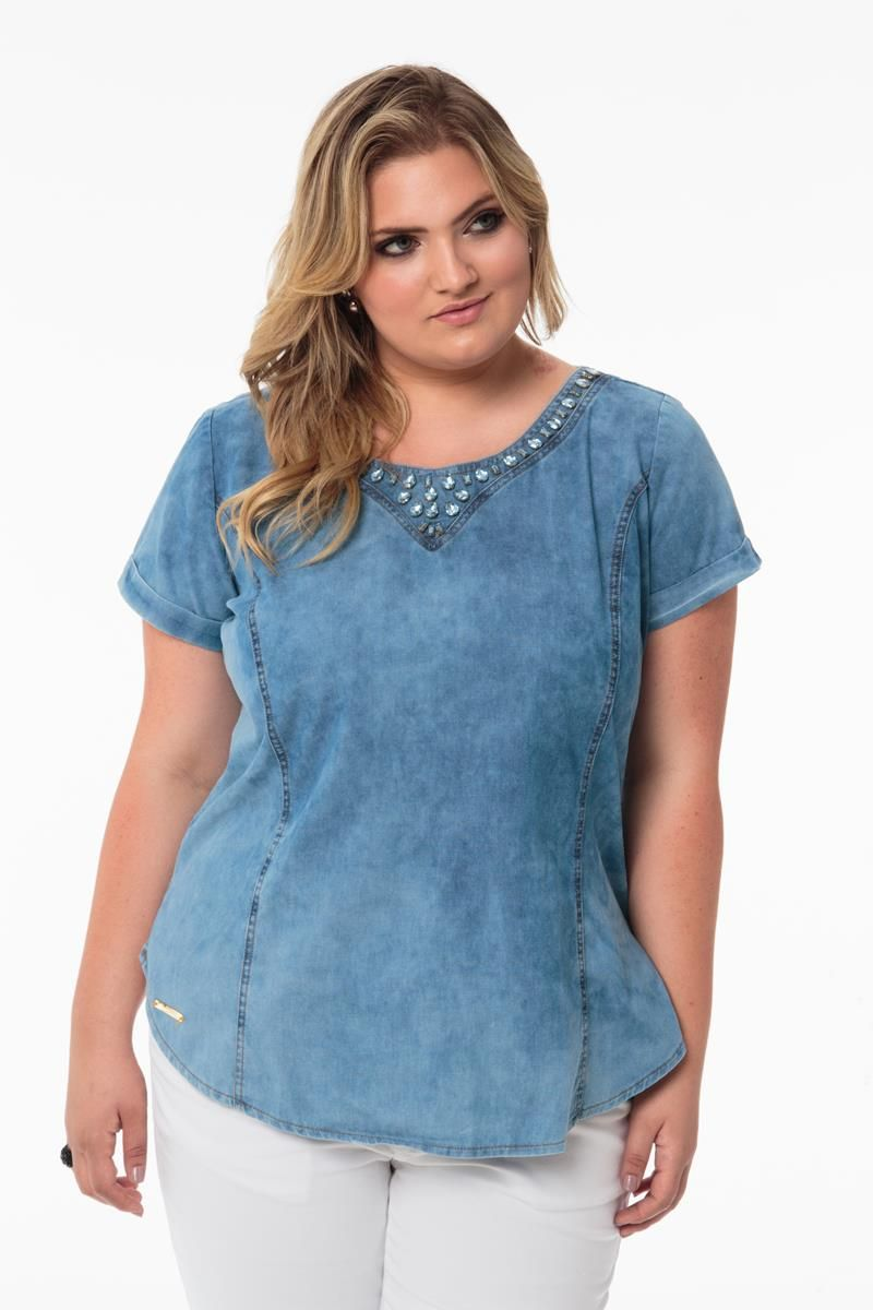 Blusa Plus Size Amanda