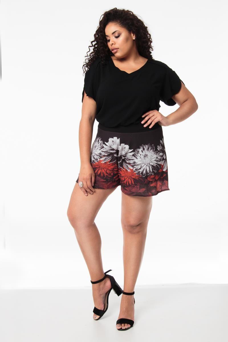 Shorts Plus Size Luise