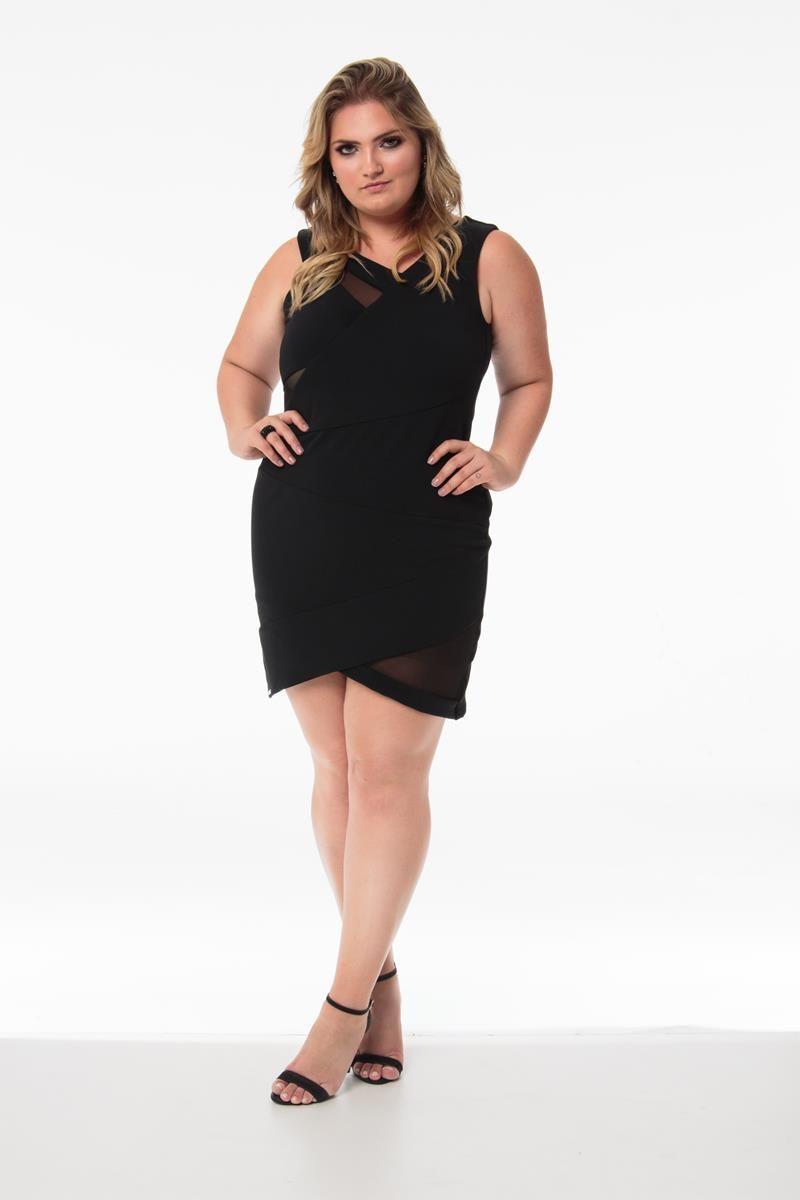 Vestido Plus Size Juliana