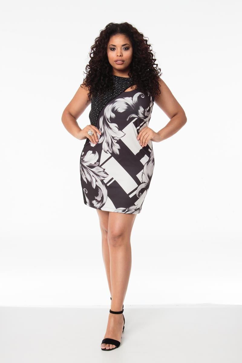 Vestido Plus Size Leticia