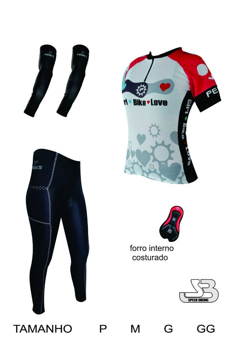 Conjunto Bike Love