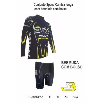 Conjunto Speed Biking