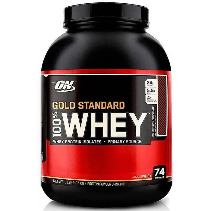 100% Whey Chocolate - 2270g - Optimum Nutrition
