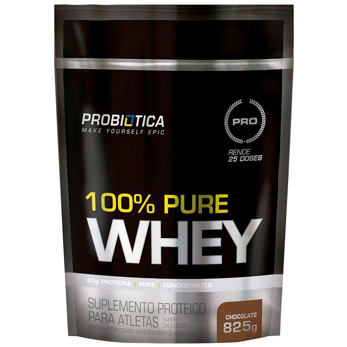 100% Whey Protein Refil - 825g - Probiótica
