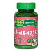 Ágar-ágar - 60 cápsulas de 600mg - Unilife