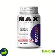 BCAA 1,2G - 120 Tabletes - Max Titanium VAL