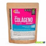 Colágeno em Cápsulas 60 cáps de 1000mg Fitobrasil EcoRefil