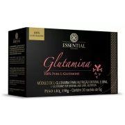 Glutamina 100% Pura 150g 30 sachês - Essential Nutrition