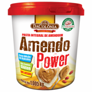 Pasta de Amendoim Integral - Tradicional 1kg - DaColonia