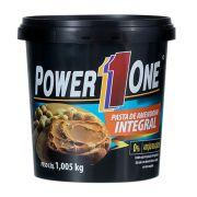 Pasta de Amendoim Integral - Tradicional 1kg - PowerOne