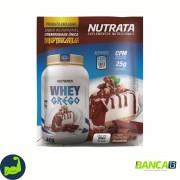 SACHE WHEY GREGO SABOR CHEESECAKE CHOCOLATE 40G - NUTRATA