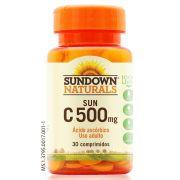 Vit C 500mg - 30 comprimidos - Sundown