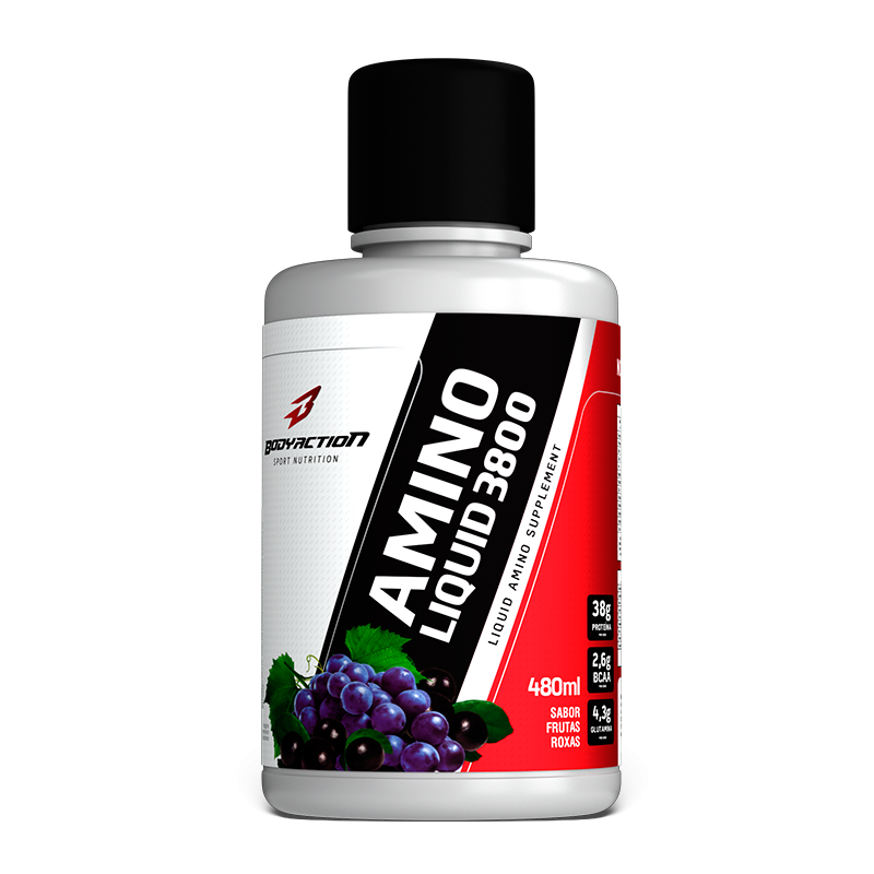 Amino Liquid 38000 - 480ml - BodyAction