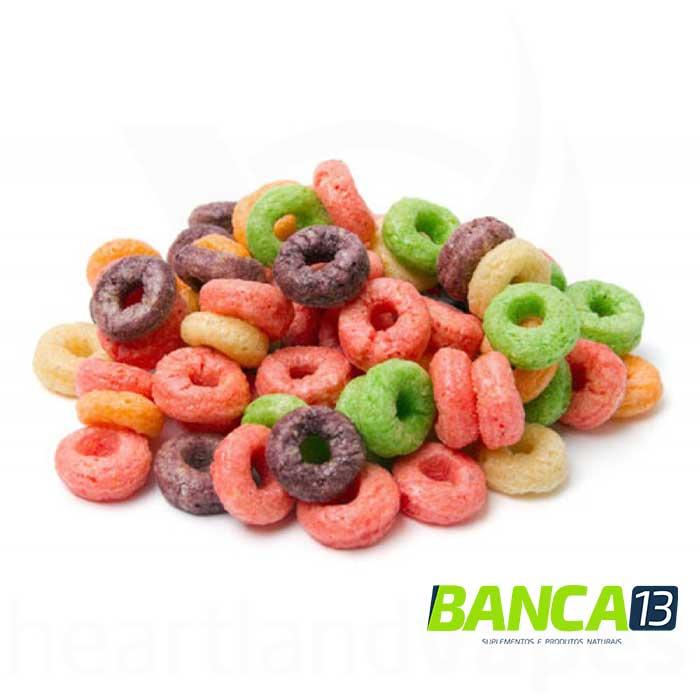 Argolinhas de Milho, Trigo e Aveia sabor Frutas - 100g