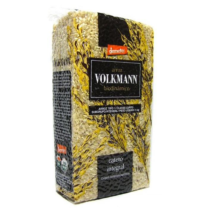 Arroz Biodinâmico Cateto - 1kg - Volkmann