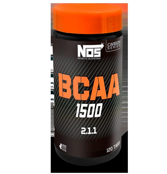 BCAA 1500 2.1.1 120 Tabletes - NOS