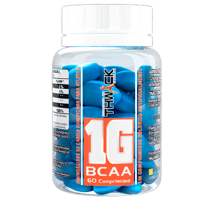 BCAA 1g - 60 comprimidos - BodyAction