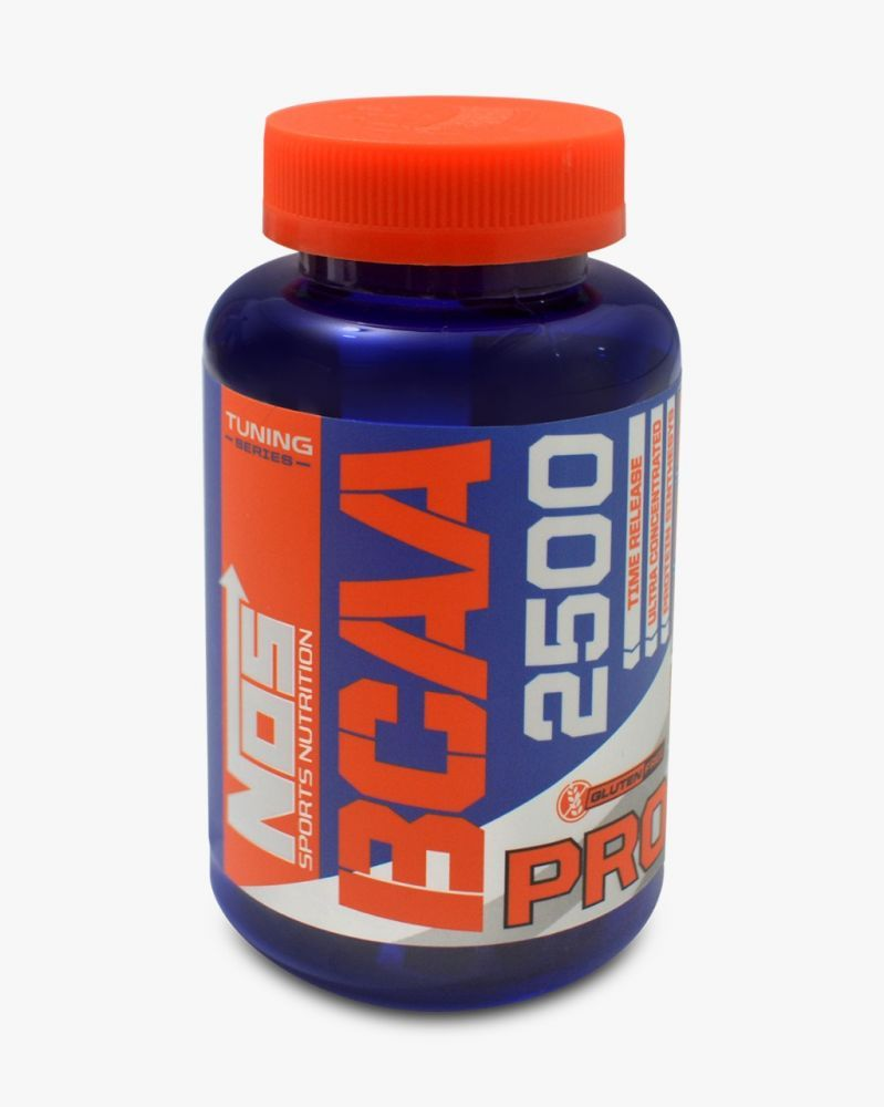 BCAA PRO 2500 120 tabs - NOS Sports Nutrition