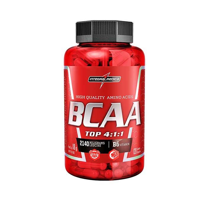 BCAA Top 4:1:1 - 120 cápsulas - IntegralMédica