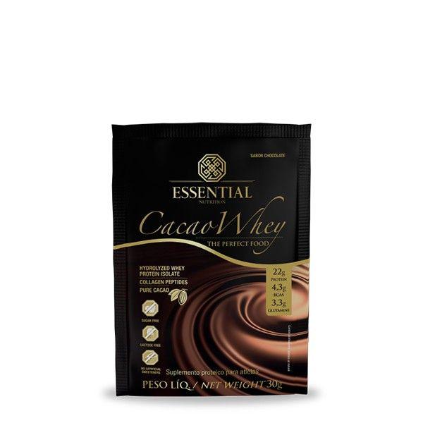 Cacao Whey Sachê 30g - Essential Nutrition