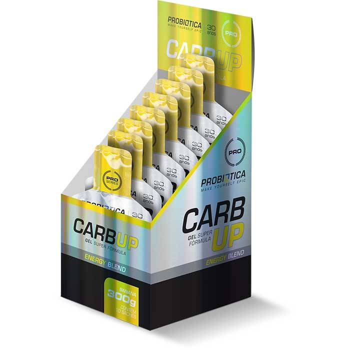 Carb Up Gel - 10 Sachês - Probiótica
