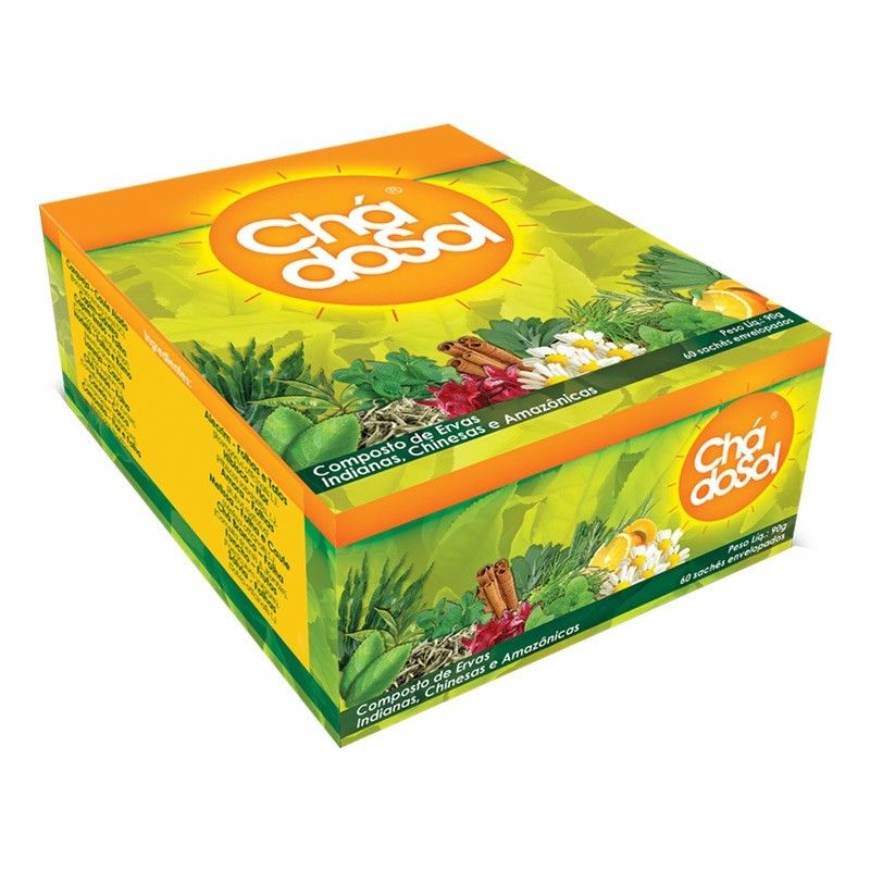 Chá do Sol 60 Sachês