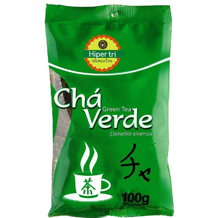 Chá Verde - 100g - Hiper Tri Alimentos