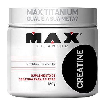 Creatina em Pó  - Max Titanium
