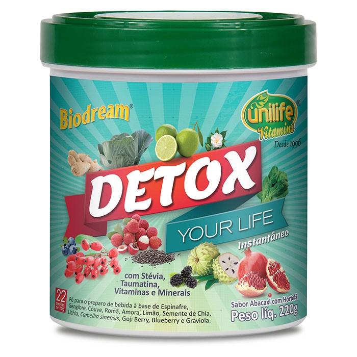 Detox Solúvel -220g - Unilife