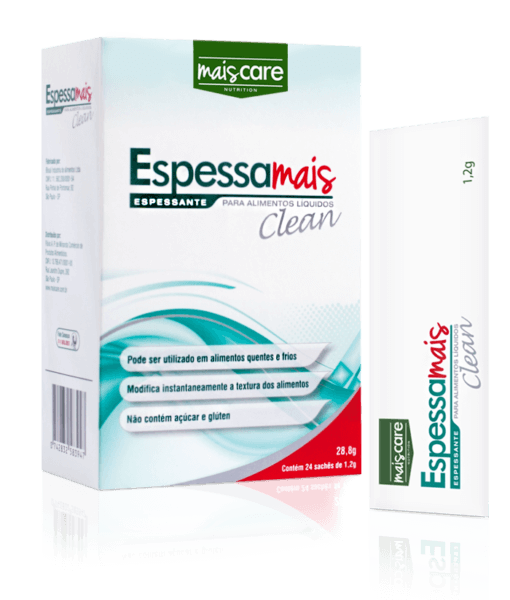 Espessante - Mais Care - Espessa Mais Clean 24 Sachês