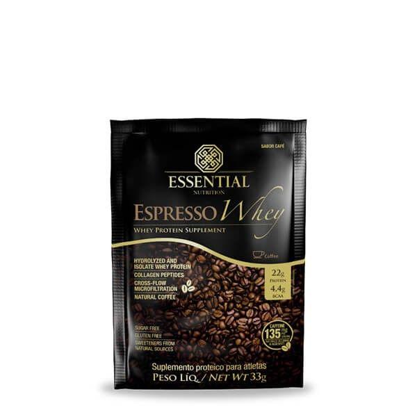 Expresso Whey Sachê 33g - Essential Nutrition