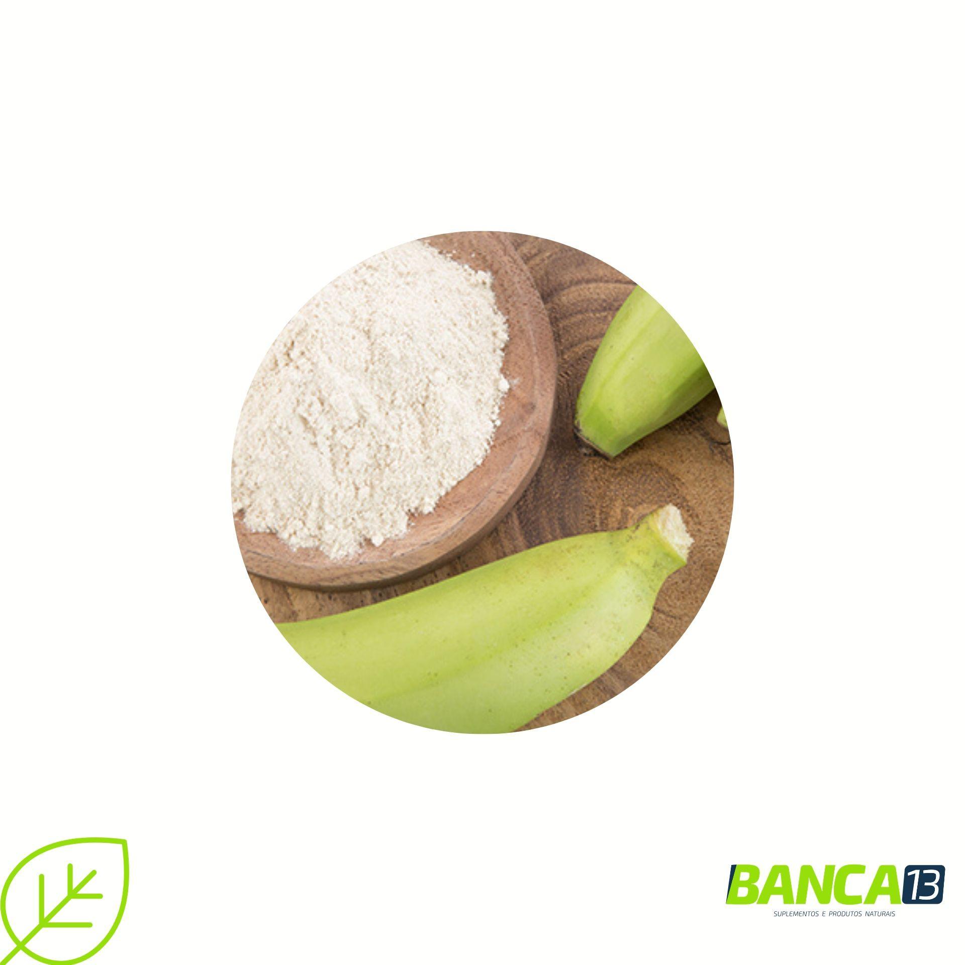 Farinha de Banana Verde - 200g