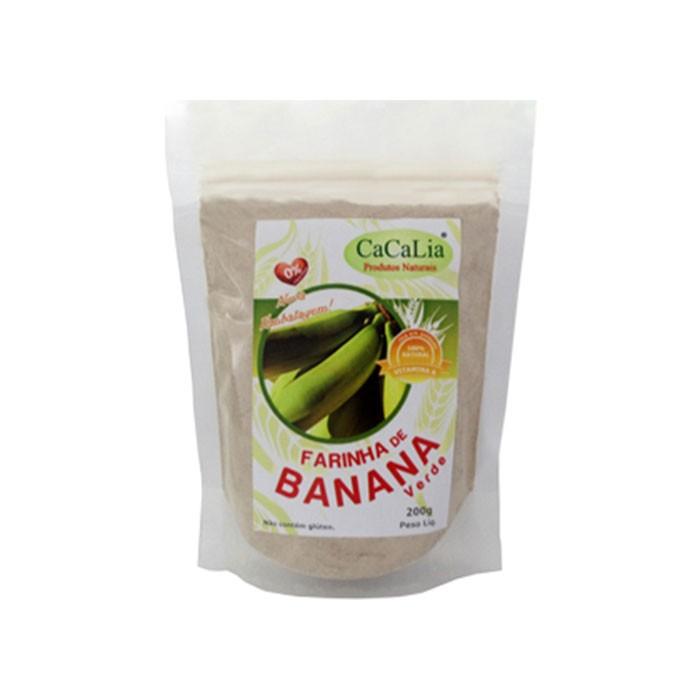 Farinha de Banana Verde - 200g - Cacalia