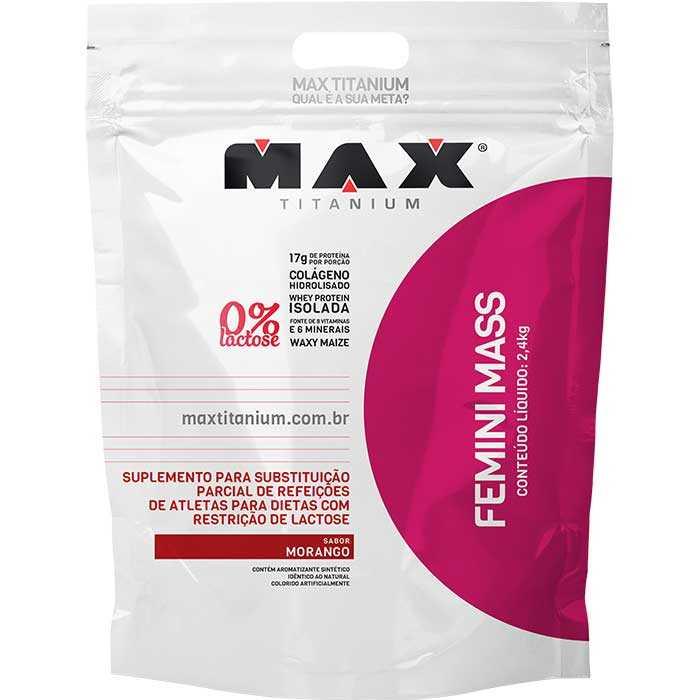 Femini Mass - 2400g - Max Titanium