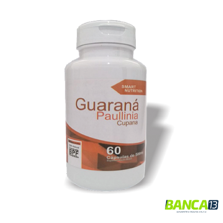 GUARANÁ 60 CÁPSULAS 500MG