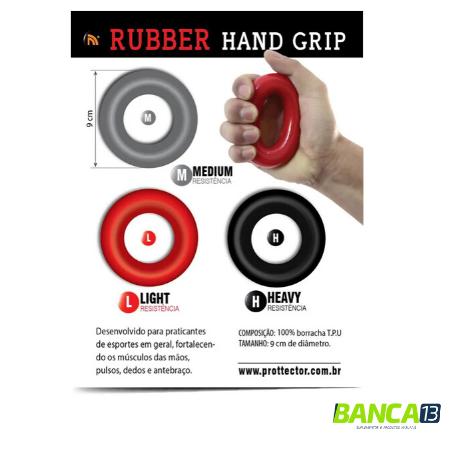 RUBBER HAND GRIP TENSÃO MEDIA