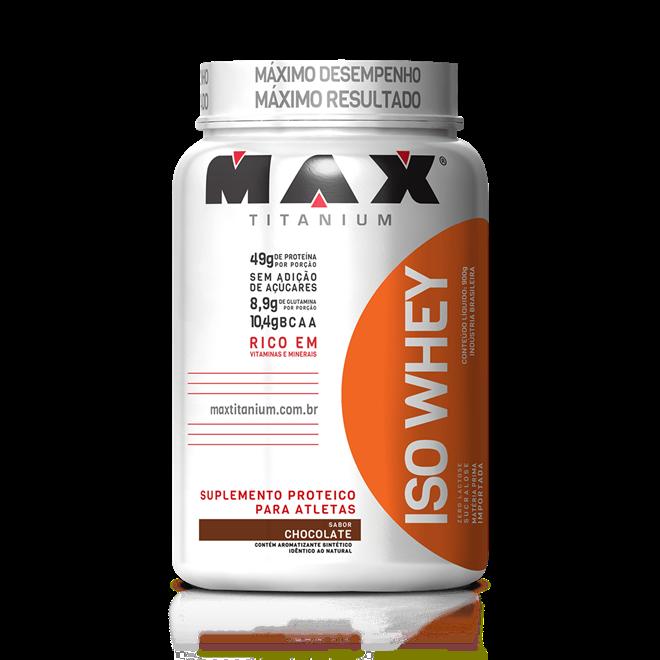 ISO Whey Protein - 900g - Max Titanium