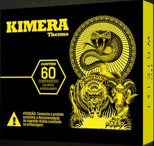 KIMERA THERMO - 60 comprimidos