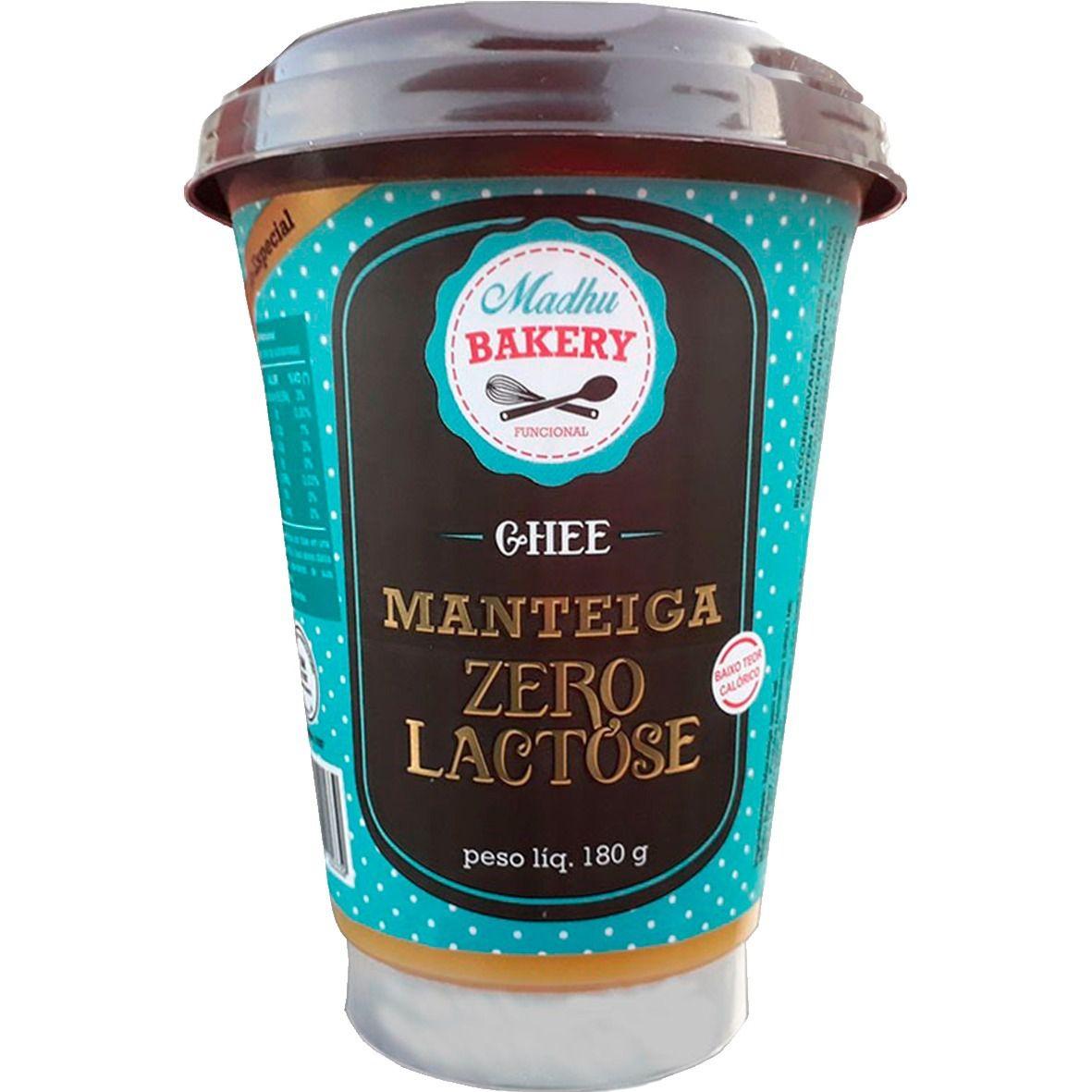 Manteiga Ghee - Zero Lactose 180g - Madhu Bakery