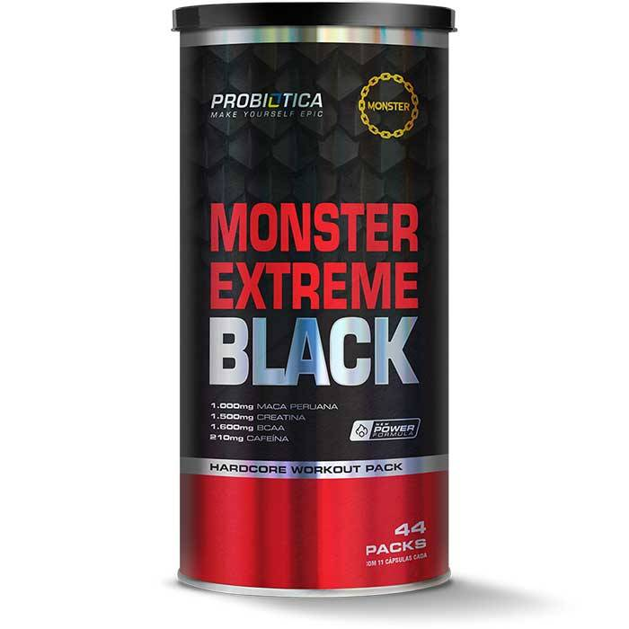 Monster Extreme Black - 44 Packs - Probiótica