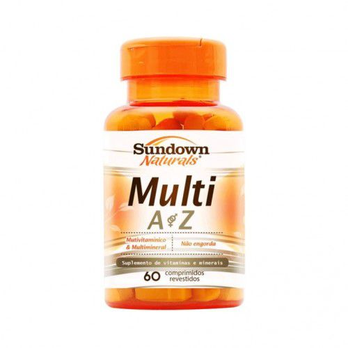 Multi A Z - 60 comprimidos - Sundown