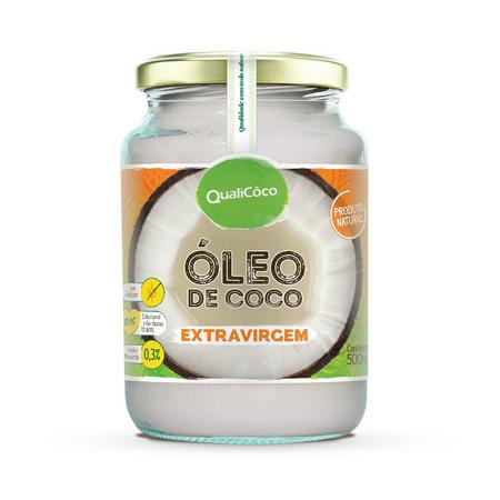 ÓLEO DE COCO EXTRAVIRGEM 500ML QUALICÔCO