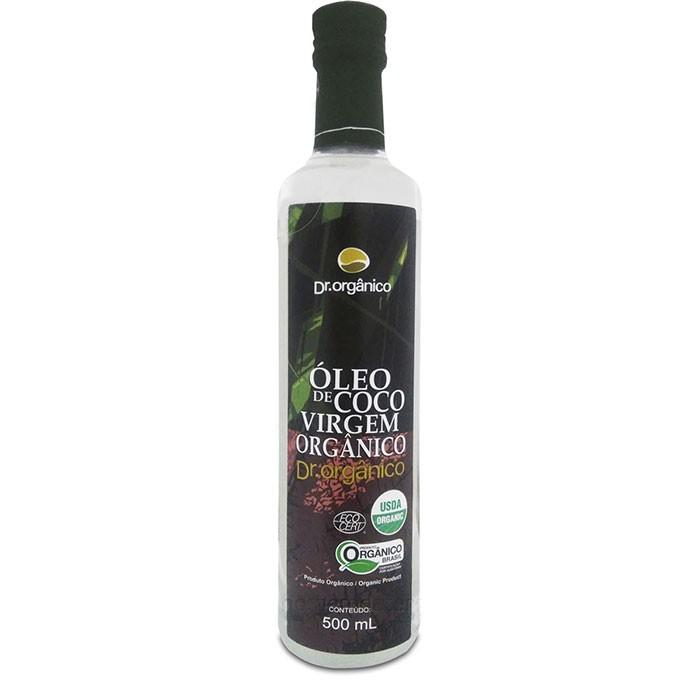 Óleo de Coco Virgem Orgânico - Dr Orgânico