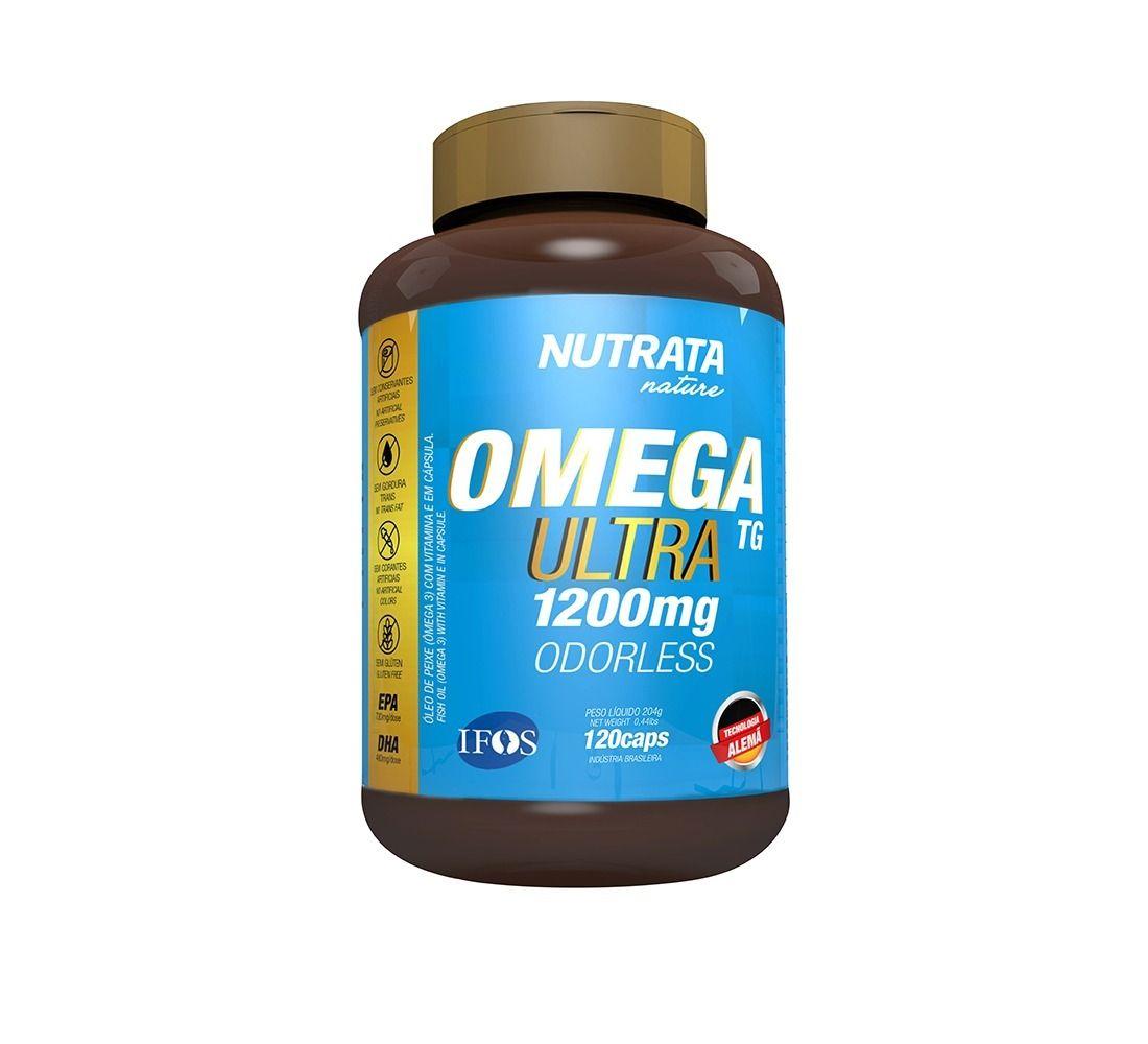 ÔMEGA ULTRA TG 1200 mg 120 cápsulas - Nutrata Nature