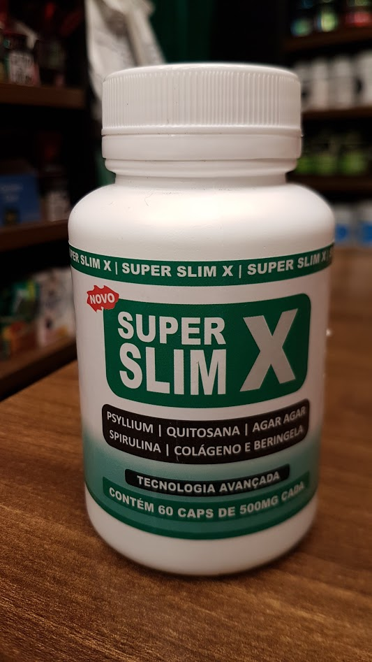 Super Slim X - 60 Cápsulas de 500mg - Vida Natural