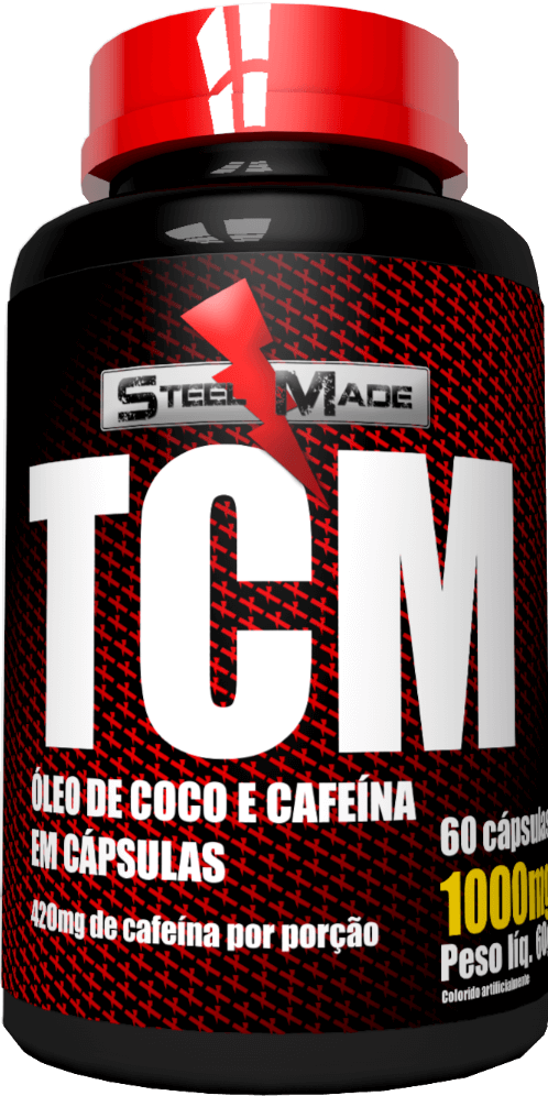 TCM 1000mg - 60 cápsulas - Steel Made